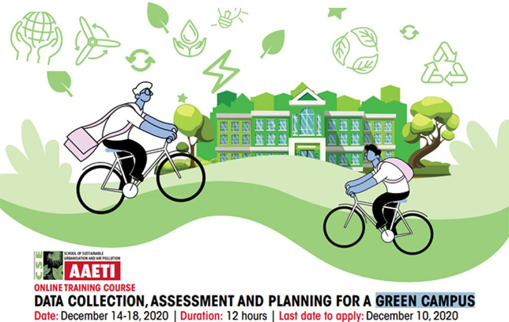 Data Collection, Assessment and Planning for a Green Campus