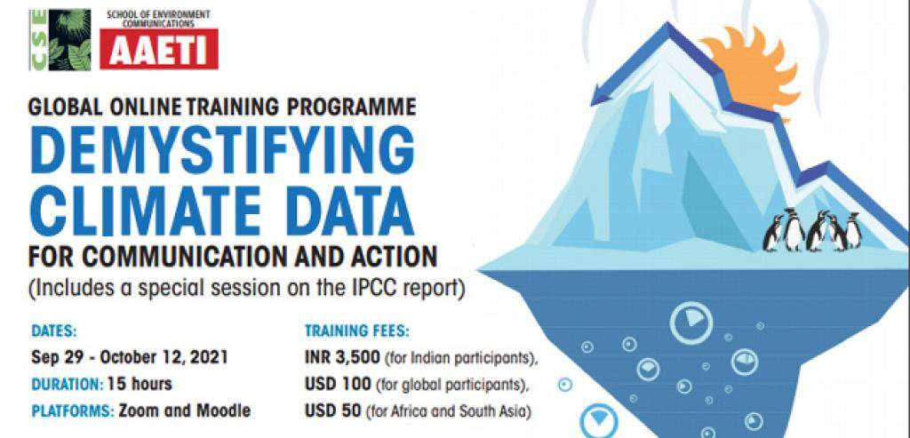 Demystifying Climate Data for Communication and Action