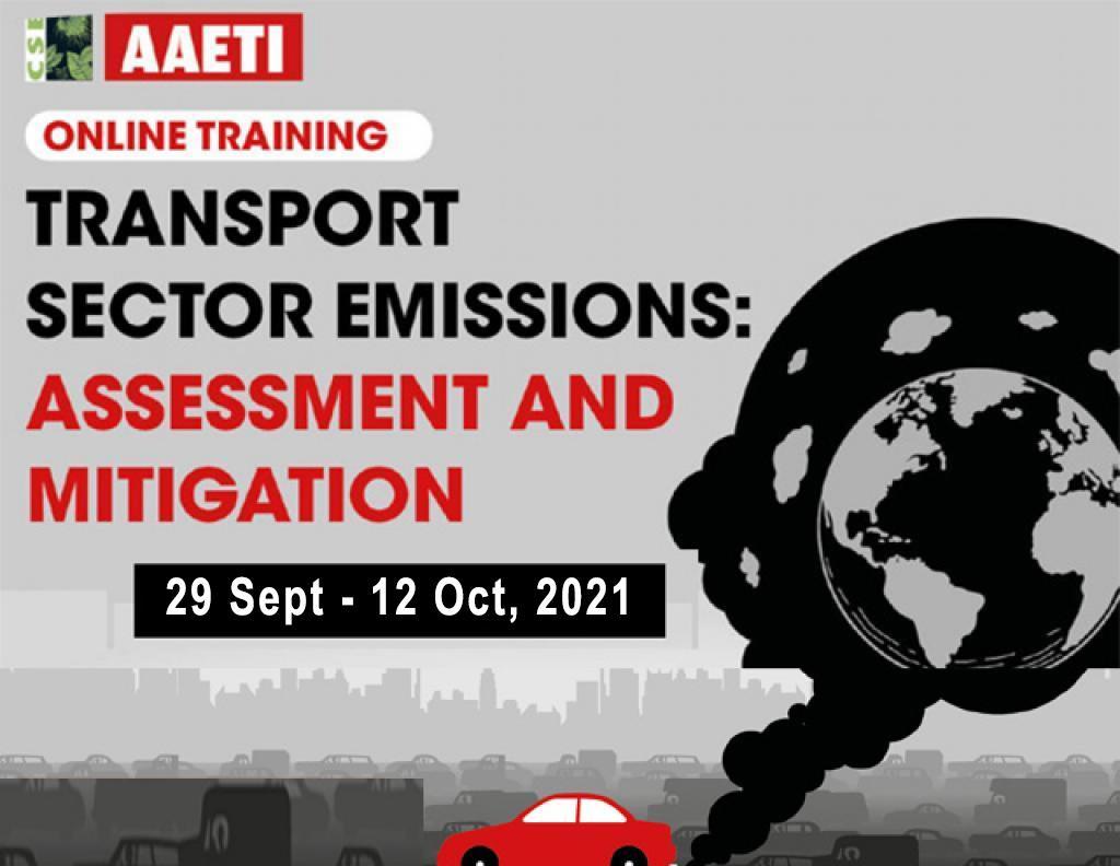 Transport sector emissions: Assessment and mitigation