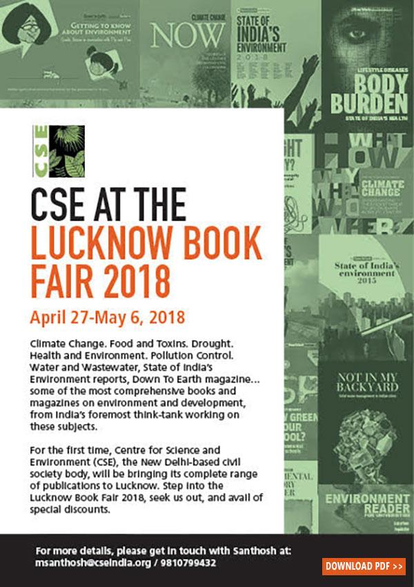 Cse At The Lucknow Book Fair 2018