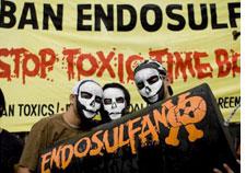 Endosulfan exports