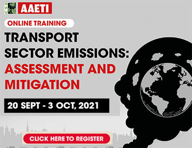Transport sector emissions